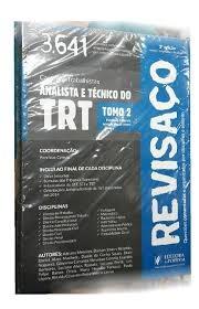 Analista E Técnico Do Trt Tomo 2 Revisaç Henrique Correia