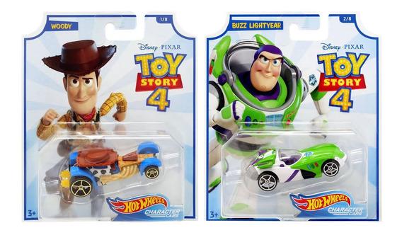 Hot Wheels Toy Story 4 - Wood & Buzz Lightyear Mattel 1/64