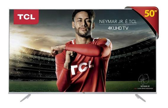 Tv Led 50 Tcl P6us Ultra Hd 4k Hdr - Unica