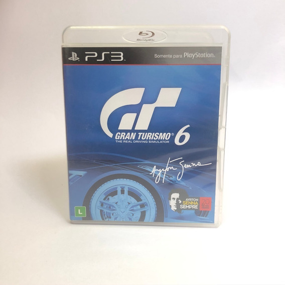Gran Turismo 6 Ps3 Midia Fisica Usado
