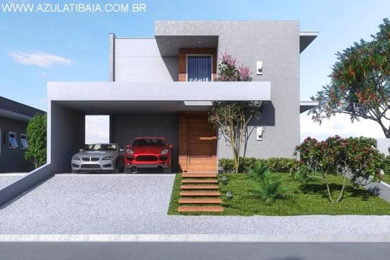 Casa Nova Em Atibaia, Condomínio Atibaia Park I - Ca00484 - 34293160