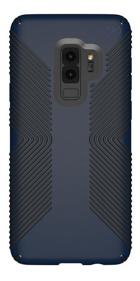 Speck Funda Presidio Grip Galaxy S9+ Eclipse Blue/ Black