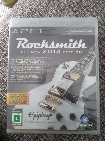 Rocksmith 2014 Lacrado - Ps3 Original Em Mídia Fisica