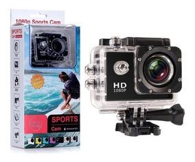 Câmera Espot Ação 2inch Lcd 1080p 12mp Câmera Mergulho