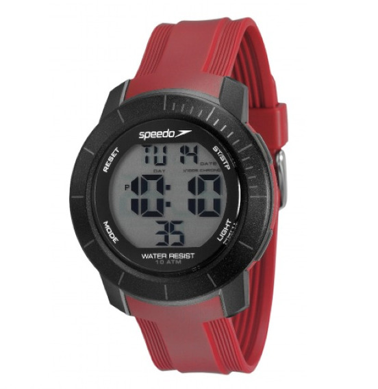 Relógio Unissex Speedo 80601g0evnp2 Vermelho