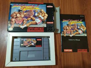 Street Fighter Ii: Turbo - Super Nintendo - Cib