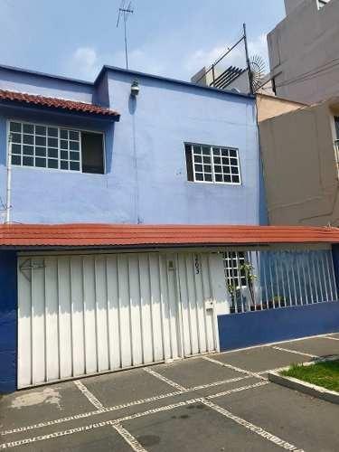 Casa En Venta,de 3 Recamaras, En La Narvarte