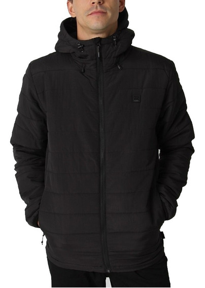 Campera Billabong Transport Adiv Puff Black Hombre M714qbtr