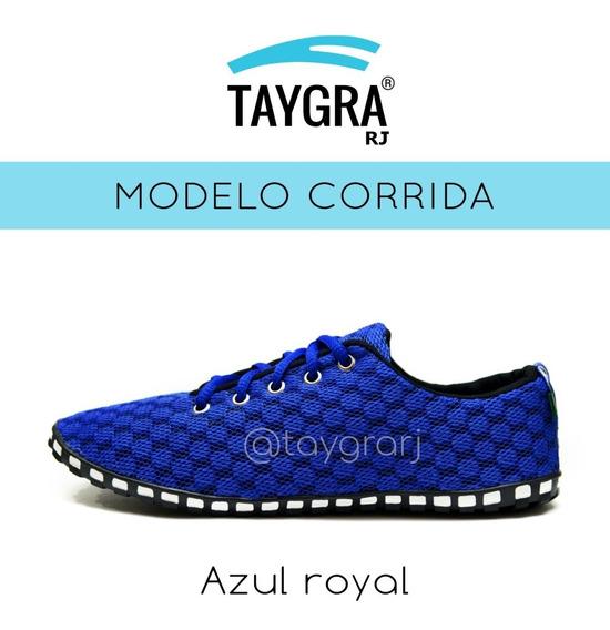 Tênis Taygra Modelo Comfort Azul Royal