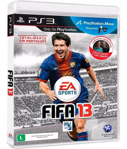 Fifa 13 Electronic Arts Ps3 + Midia Fisica Original