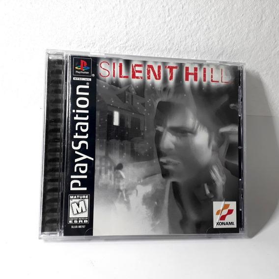Jogo Silent Hill Ps1 Playstation Americano Original Raro!!!