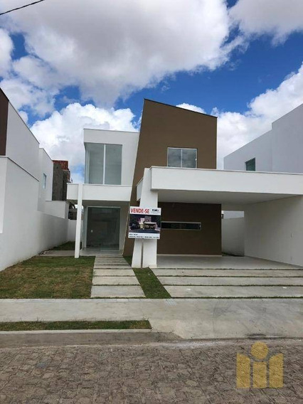 Casa Com 4 Dormitórios À Venda, 199 M² Por R$ 617.458 - Antares - Maceió/al - Ca0342