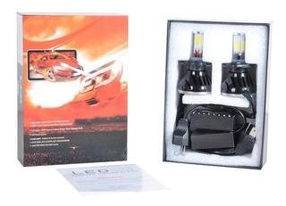 Kit Focos Led Automotriz H4 Alta/baja Blanca Brillante 4000