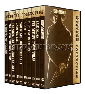 Coleccion Clint Eastwood Western 10 Dvds Pack Peliculas Film