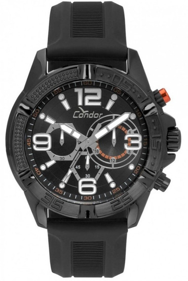 Relógio Condor Borracha Covd54avul/8p Preto Garantia + Nf