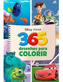 Livro Para Colorir 365 Desenhos Disney