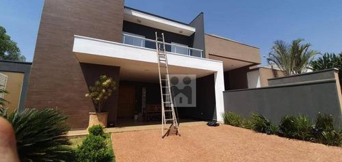 Imagem 1 de 11 de Casa Com 3 Dormitórios À Venda, 220 M² Por R$ 840.000,01 - Bonfim Paulista - Ribeirão Preto/sp - Ca0612