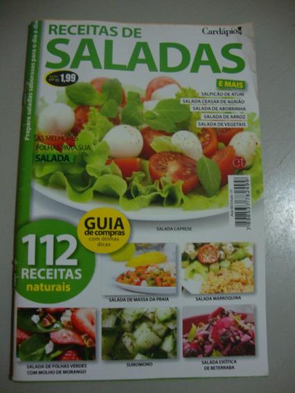 Livro - Receitas De Saladas. 112 Receitas Naturais