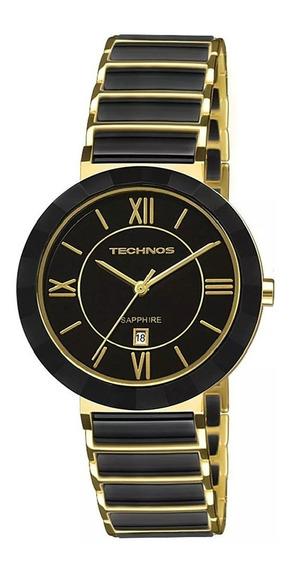 Relógio Technos Feminino Elegance Ceramic Sapphire 2015ce/4p