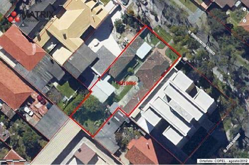 Matrix Imóveis Vende (zr4) 18x42, 740m² Terreno Por R$ 1.200.000 - Boa Vista - Curitiba/pr - Te0983