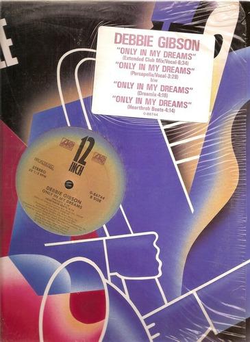 Debbie Gibson - Only In My Dreams (12  Sellado De Epoca)