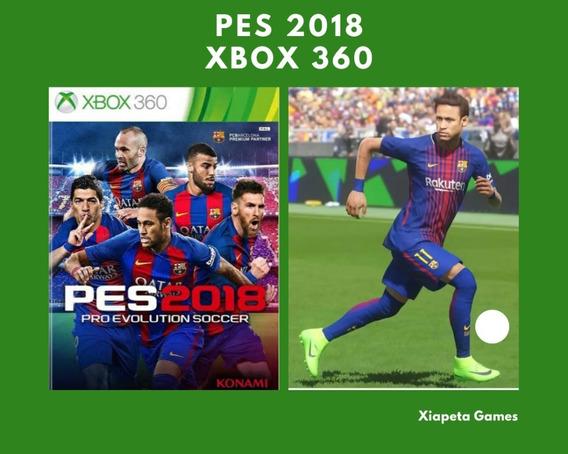 Pes 2018 Xbox 360 Midia Digital