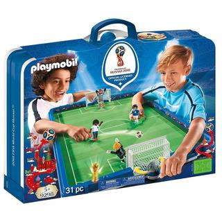 Cancha De Futbol Copa Del Mundo Fifa Playmobil 9298 Playlgh