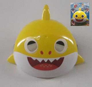 Baby Shark Mascara Careta Ajustable Luz Y Cancion Del Video!