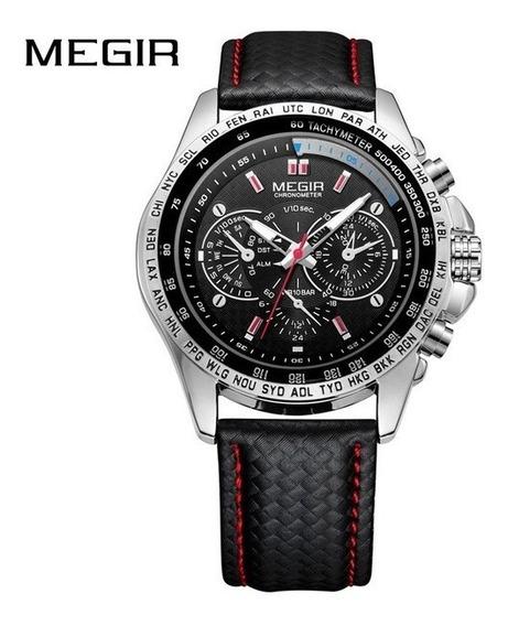Relógio Masculino Megir Frete Grátis Qualidade Envio Em 24h