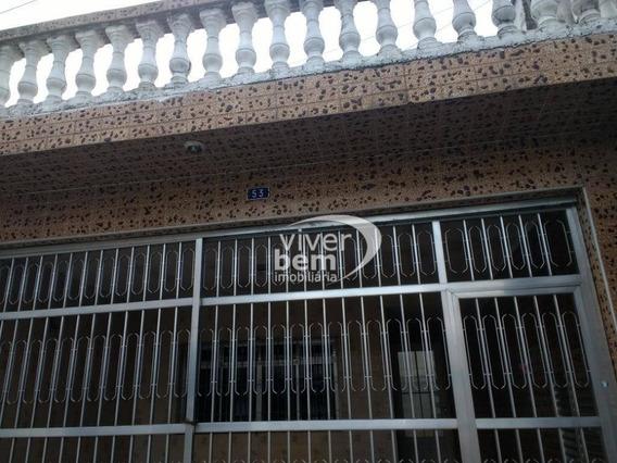 Casa Com 2 Dormitórios Para Alugar, 110 M² Por R$ 1.500,00/mês - Chácara Belenzinho - São Paulo/sp - Ca0001