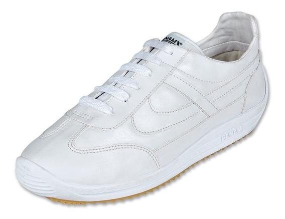 Calzado Juvenil Niño Tenis Panam 084 Tipo Piel En Blanco Com