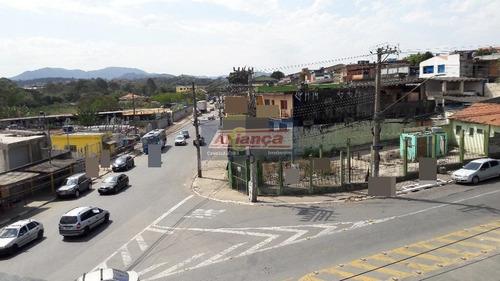 Terreno Para Alugar, 550 M² Por R$ 4.800/mês - Vila Nova Bonsucesso - Guarulhos/sp - Cód. Te0518 - Ai14184