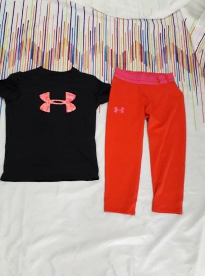 Blusa Y Leggins Under Armour Talla 8años No Nike adidas Puma