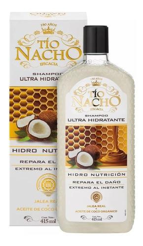 Imagen 1 de 1 de Shampoo Tio Nacho 415 Ultra Humectacion