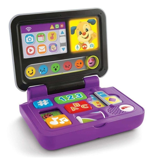Meu Primeiro Laptop - Laugh & Learn - Fisher-price