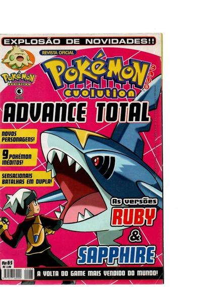 Pokémon Evolution Advance Total Ruby E Sapphire Nº65