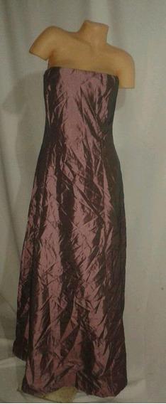 Vestido De Fiesta Largo Nuevo Hermoso Y Elegante Strapless
