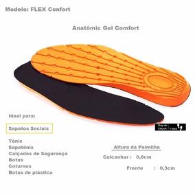 Palmilha Gel Anti-impacto Conforto, Sapatenis Kit 16 Pares