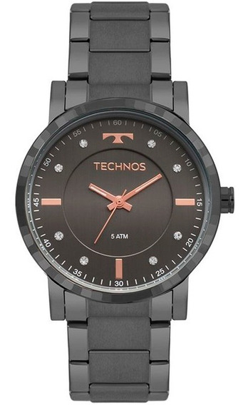Relógio Feminino Technos Trend Grafite 2036mjr/4c