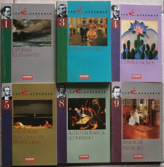Lote Com 14 Livros Coleção Ler É Aprender Estadão 1997 Klick