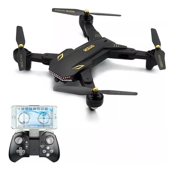 Drone Visuo Xs809s Battle Sharks Wifi Fpv Até 20 Min Voo
