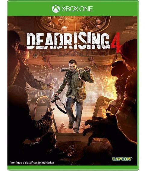Jogo Dead Rising 4 - Xbox One - Midia Fisica - Original