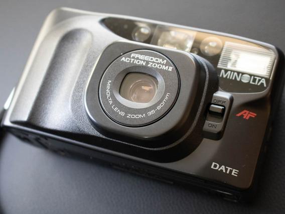 Câmera Fotográfica Analógica Minolta Af