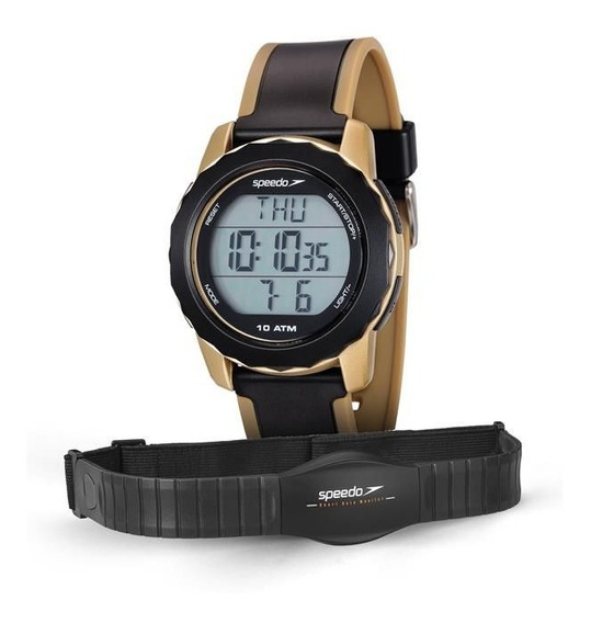 Relógio Speedo Masculino Ref: 80622g0evnp2 Monitor Cardíaco