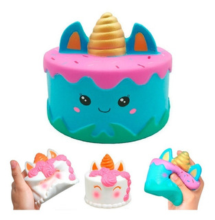 Squishy Grande Torta Pastel Muñeco Anti Estres Perfumado