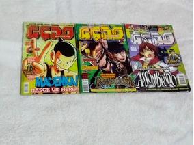 Revistas Ação Magazine Edições 1,2,3 Usado