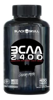 Bcaa 2400 Caveira Preta (400 Tabs) - Black Skull - Promoção