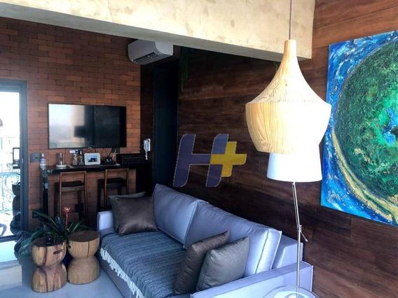 Apartamento Com 1 Dormitório À Venda, 38 M² Por R$ 905.000 - Brooklin - São Paulo/sp - Ap0734