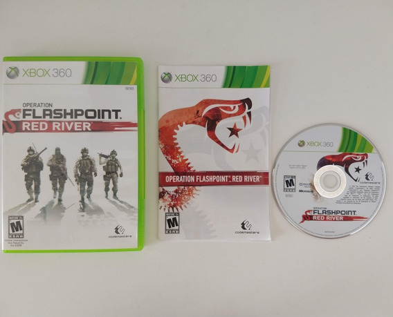 Operation Flashpoint Red River Xbox 360 Física Xbox One