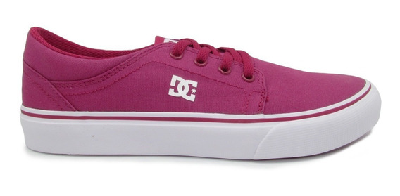 Tenis Dc Shoes Youth Trase Tx Adgs300061 Ras Raspberry Rosa